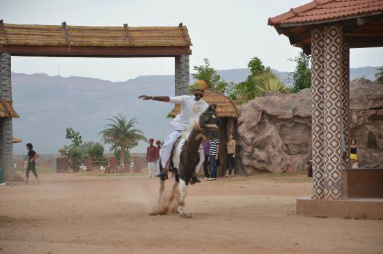 Vijayshree Theme Village: Horse Riding