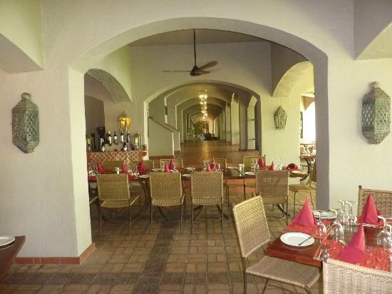 Chobe National Park, Botswana: tavoli del ristorante