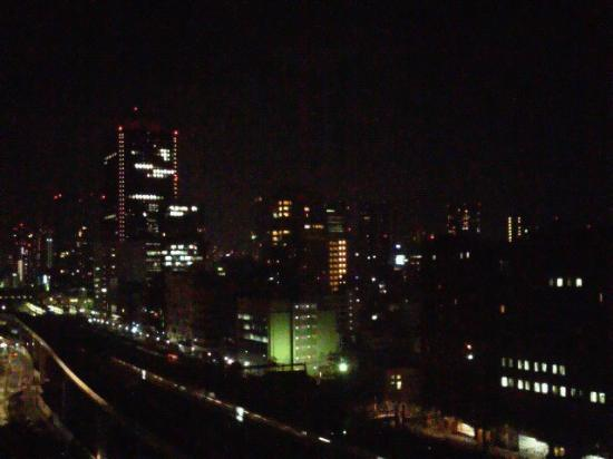 Hotel Villa Fontaine Tokyo-Shiodome: 眼下には、JRに、ゆりかもめ