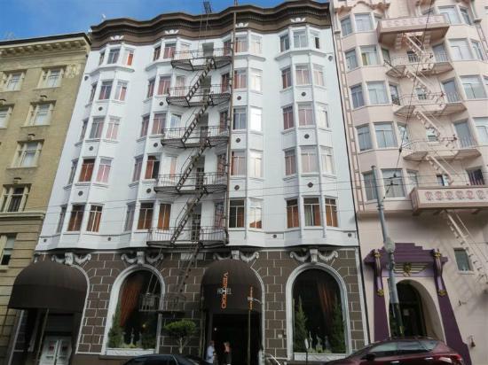 Hotel Vertigo: Fachada del hotel