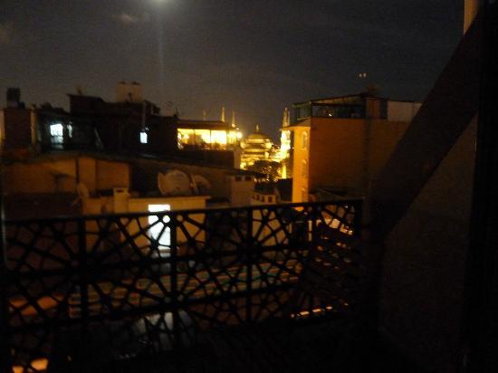 Burckin Suites Hotel: wat een uitzicht vanaf je balkon