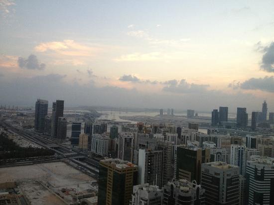 Sofitel Abu Dhabi Corniche: vue du 36 ème étage