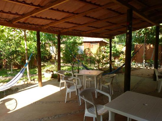 Osa Mariposa Hotelito: Chilling area