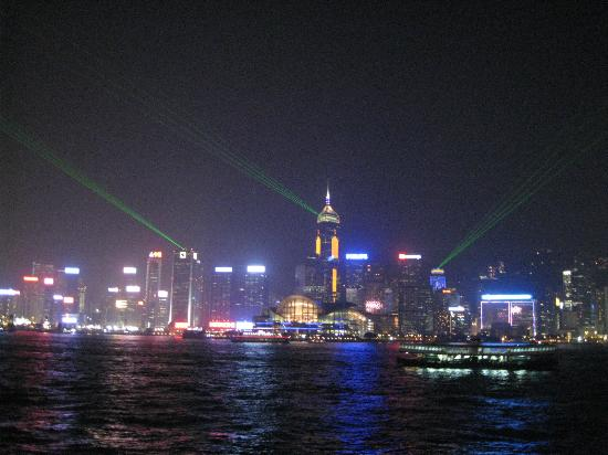 Marco Polo Hongkong Hotel: シンフォニー・オブ・ライツ