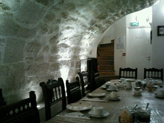 Hotel du Haut Marais: sala colazione!
