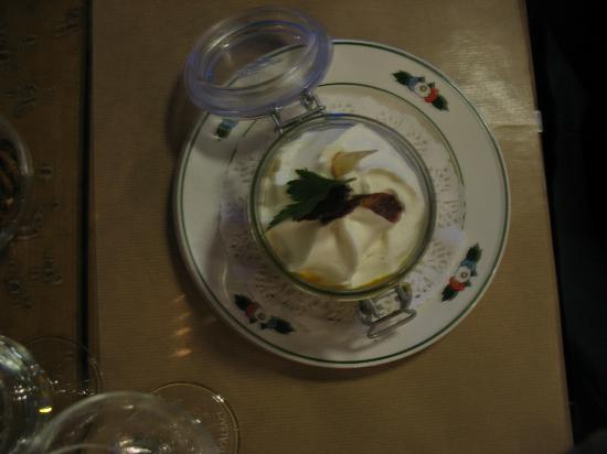 Wistub Brenner: Pumpkin soup with cream