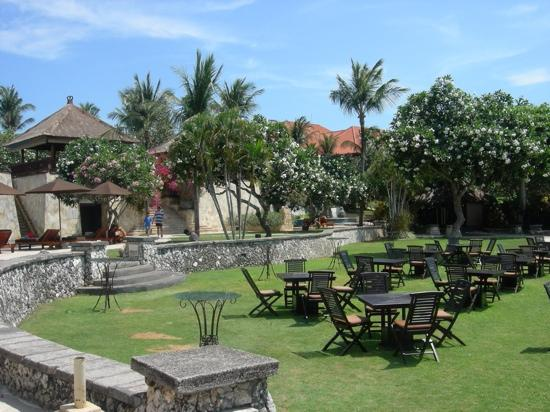 AYANA Resort and Spa: view over to kids pool