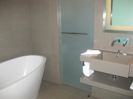 Novotel Bangkok Platinum Pratunam: not good view of bathroom area tried my best