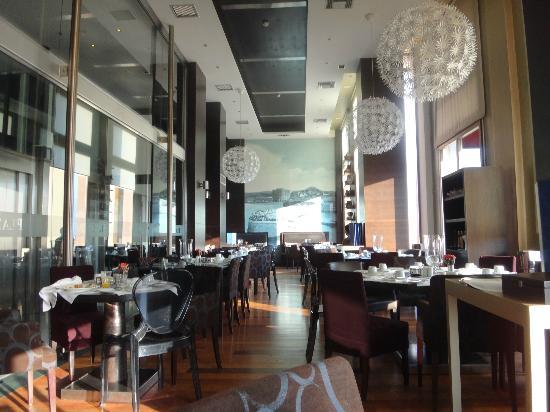 GDM Megaron Hotel: 充実していた朝食を取ったレストラン