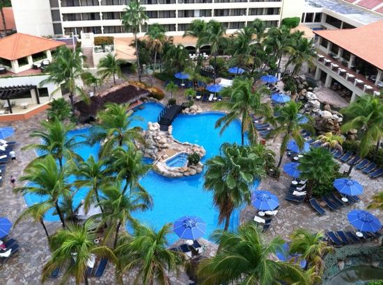 Occidental Grand Aruba All Inclusive Resort: view from room 2721
