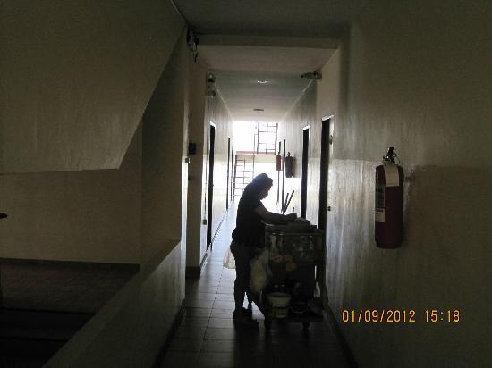 Opey de Place Hotel: Flur