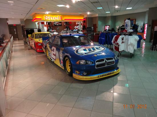 Gift Shop Picture Of Penske Racing South Facility Mooresville