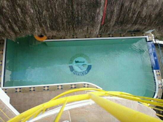JAYJAYs Club: The pool from the 3rd floor..