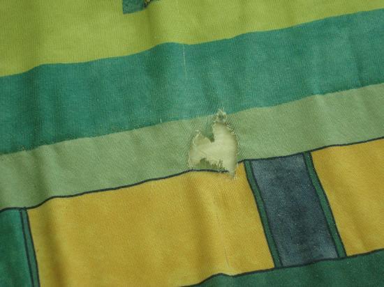 Solymar Cancun Beach Resort : torn beddding
