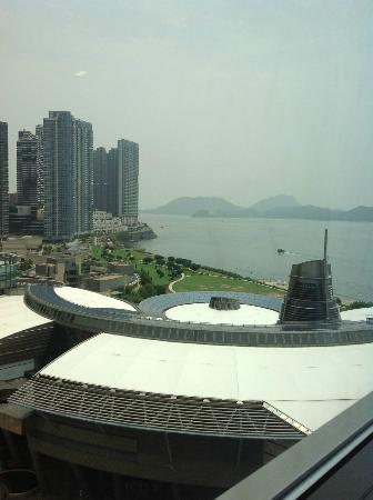 Le Meridien Cyberport: View from the room