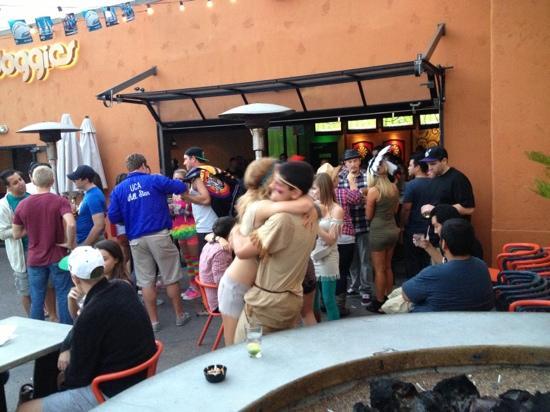 Moondoggies: bar crawl fun on college football Sat