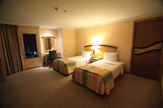 Baiyoke Sky Hotel: этаж 47