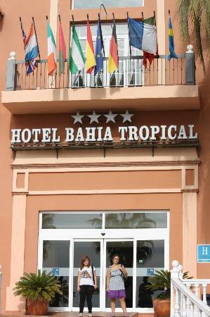 Bahia Tropical Hotel: entré de l'hotel