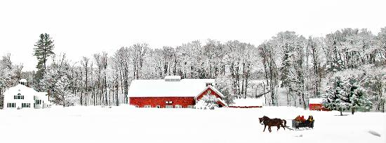 Winter at The Quechee Inn at Marshland Farm