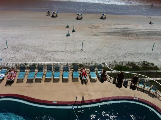 Makai Beach Lodge: La vista dal terrazzo di camera