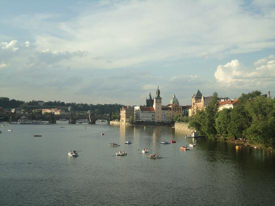 Hotel Liberty: Une vue de Prague