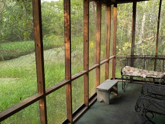 Wildlife Gardens Bed and Breakfast and Swamp Tours: Cabin