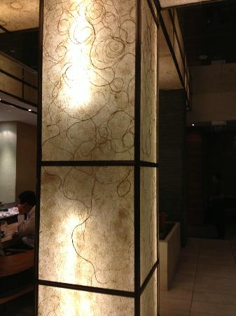 Ginza Kuroson Singapore: Lighting Decolation
