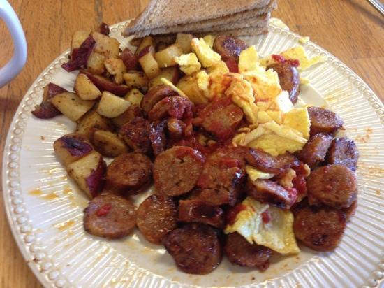 Bagels & Kabobs: Italian breakfast