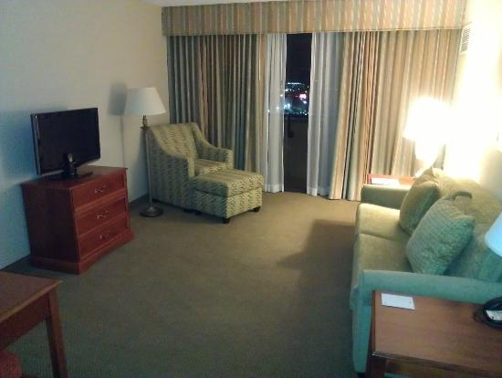 Embassy Suites by Hilton Tampa - Airport/Westshore: living area