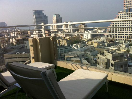Mercure Tel-Aviv City Center: Blick von Zimmer 1101