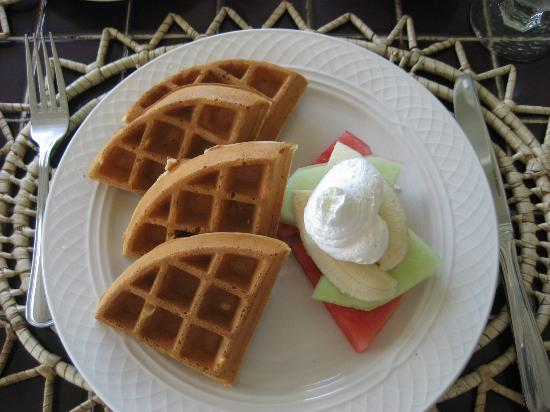 Windjammer Landing Villa Beach Resort: Breakfast (non-buffet item)