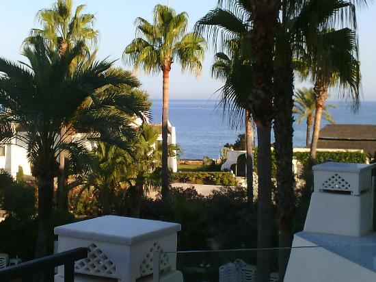 IBEROSTAR Marbella Coral Beach: View from room facing pool - out to Meditteranean