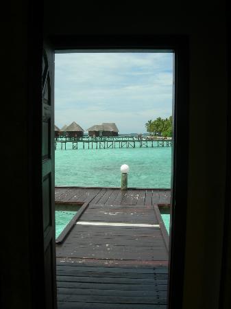 Thulhagiri Island Resort: depuis la chambre