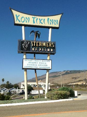 Kon Tiki Inn: Cool vintage sign 