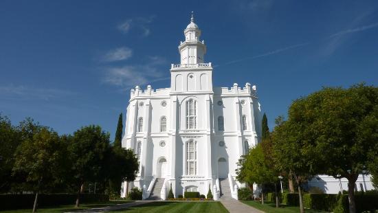 Tempel der Mormonen in St. George