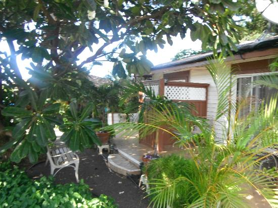 Anapa Place Inn: Side yard