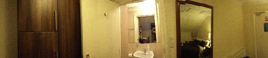 The Aber Hotel: bagno