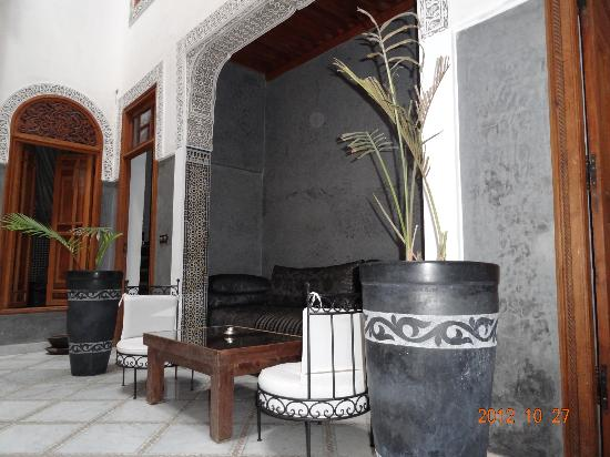 Riad Layla : sitting area