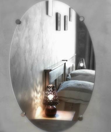 Lamaison-Uzes : chambre Coquelicot