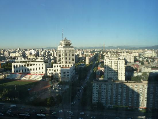 InterContinental Beijing Financial Street: view from the room