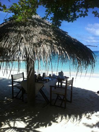 باروس جزر المالديف: Anniversary breakfast 2