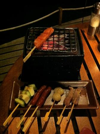 Baros Maldives: Table BBQ at Cayenne