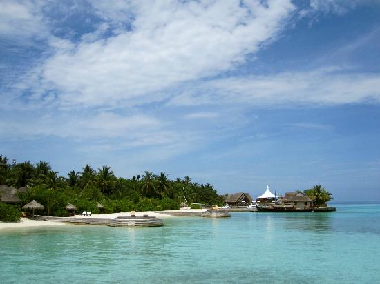 Baros Maldives: View of West Side of Island