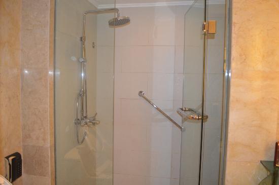 Hotel Borobudur Jakarta: Shower room
