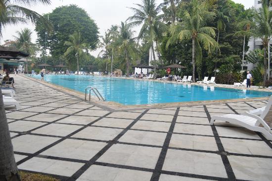 Hotel Borobudur Jakarta: Olympic sized pool