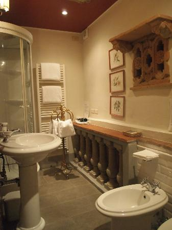 Relais Grand Tour : Toilet of Diva Suite