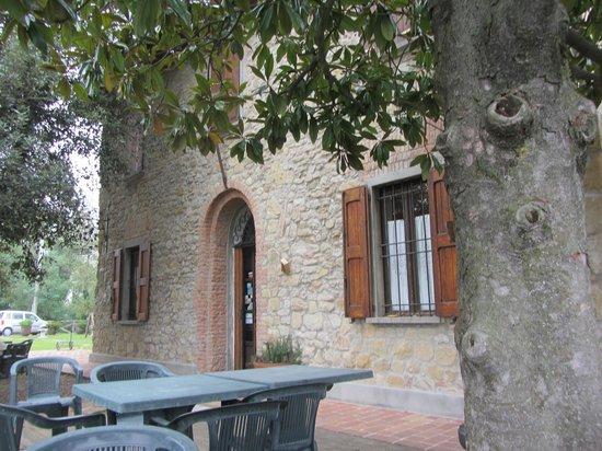 Fattorie di Montechiaro:                   Entrance to the restuarant
