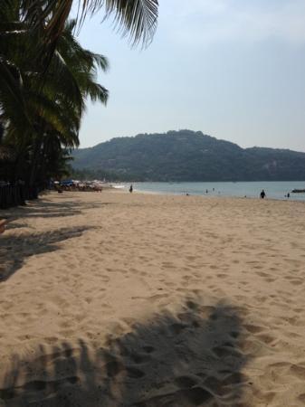 Playa la Ropa on a Satuday morning.