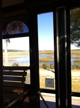 Isla de Amelia, FL: beautifull view from the trolley