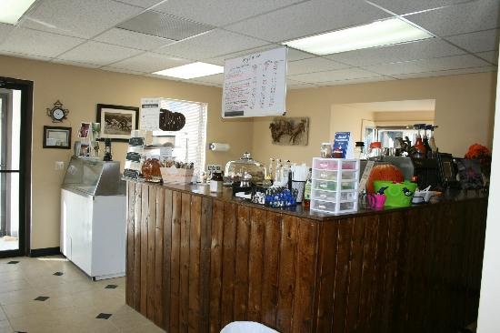 The Pony Expresso: Our bar area in the shop